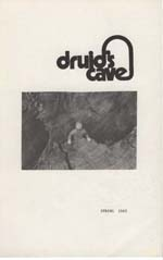 Druid's Cave 1985 cover photo